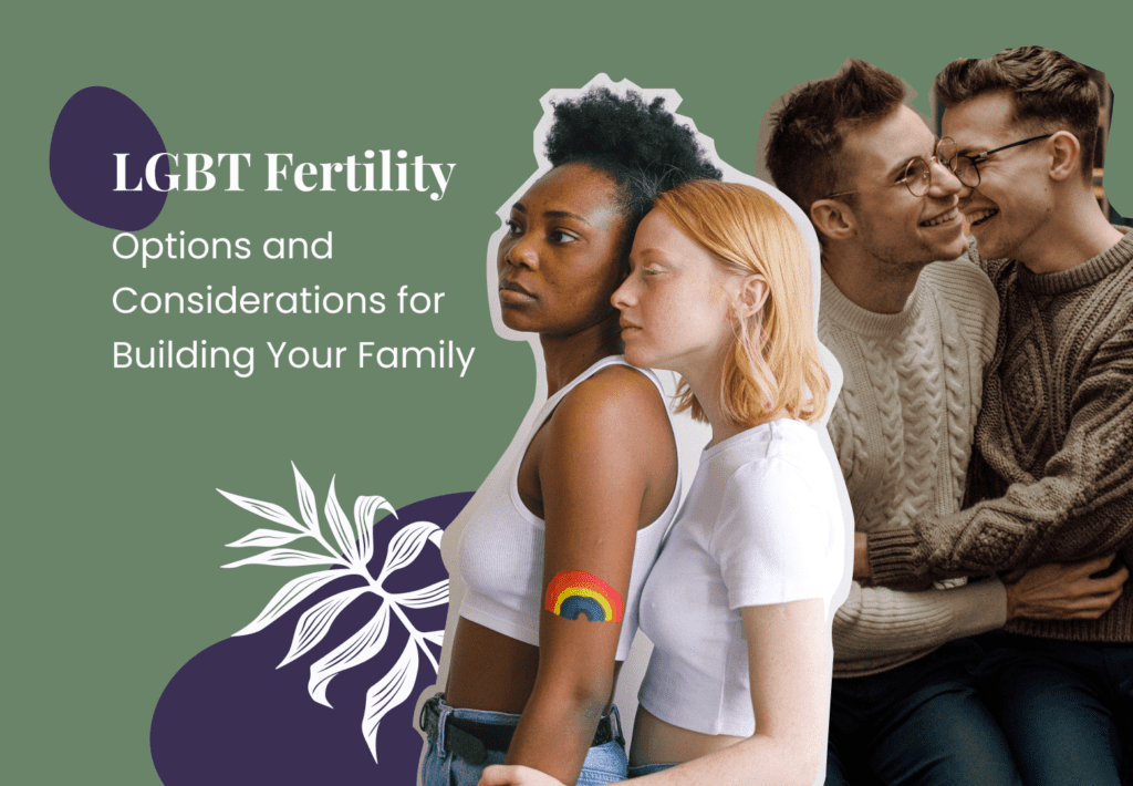 LGBTQ+ Fertility: Options and Considerations for Building Your Family [Infographic]