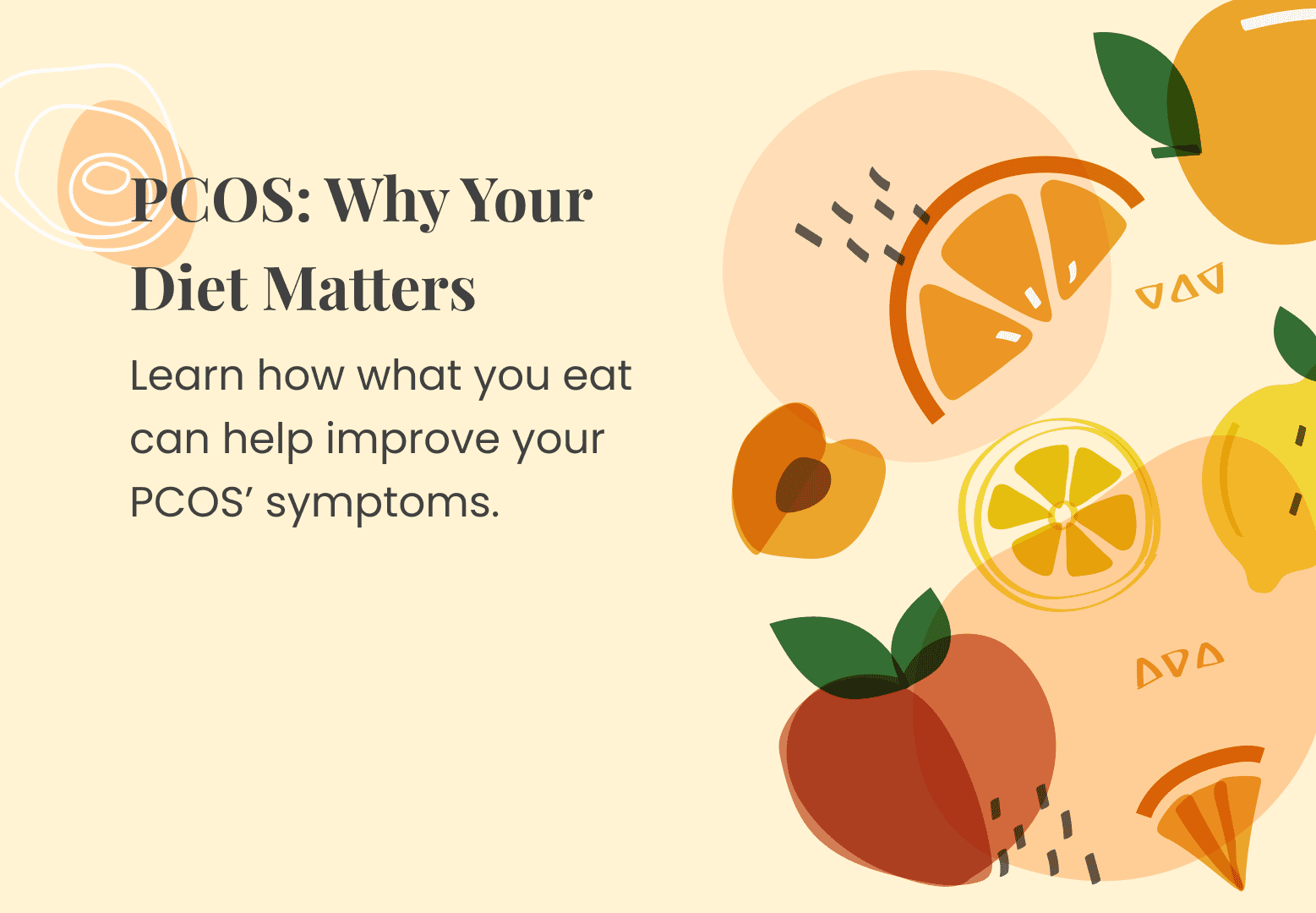 PCOS: Why Your Diet Matters